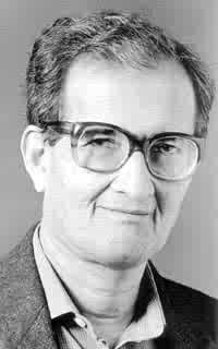 Official Nobel Prize portrait of Amartya Sen