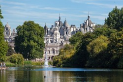 A picture of the Horseguards Parade and Whitehall Palace