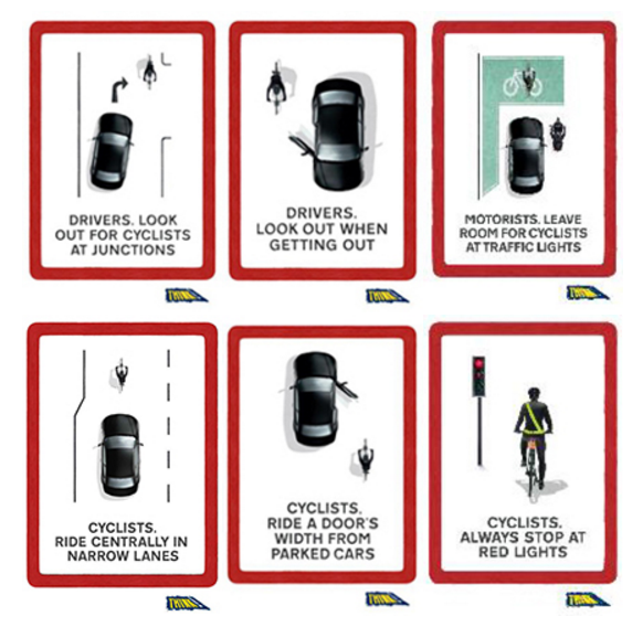 tfl cycling posters